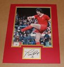 GENUINE DAVID JOHNSON IN LIVERPOOL SHIRT HAND SIGNED PHOTO MOUNT + COA