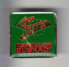 RARE PINS PIN'S .. SPORT PAYS BASQUE EUSKADI VELO CYCLING TRIALTHON 64 ~BN