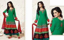 Pakistani Indian Formal Fancy Wedding Party Wear long anarkali suit dress