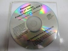 USED PANASONIC TOUGHBOOK CF-27 RECOVERY DISC CD WINDOWS 2001 MK2-2K1X