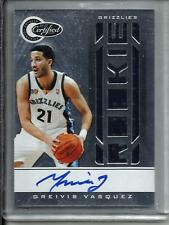 Greivis Vasquez 10/11 Totally Certified Autograph Game Used Jersey RC #454/599