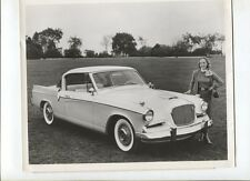N°9392  /  photo constructeur STUDEBAKER  Golden Hawk  december 6  1955
