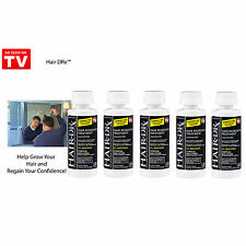 LOT OF 5 Hair-DRx- Men's Extra Strength Hair Regrowth Treatment (Unscented)