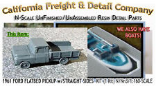 1961 FORD FLATBED PICKUP w/STRAIGHT SIDES KIT California Freight & Details *NEW*
