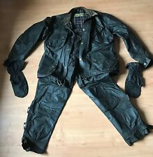 Extremely Rare 1950's Barbour International Vintage Wax Suite Jacket