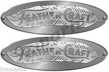 Two Feather Craft Brushed Metal Type Imitation Decals