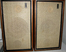 Pair Of Vintage Criterion 50A Stereo Speakers