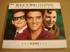 2-CD / ICONS - ROCK 'N' ROLL LEGENDS