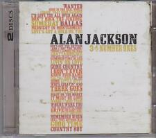 ALAN JACKSON - 34 NUMBER ONES on 2 CD's NEW
