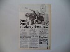 advertising Pubblicità 1976 SANKYO SOUND