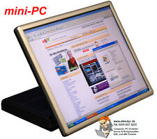 VIRENFRE! LAUTLOS! ALTERNATIVE ZUM NOTEBOOK MINI-PC WINDOWS XP EMBEDDED 43cmTFT