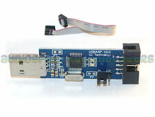 USBasp Programmer & cable *NEW FW* USB ISP KK2.0 Multiwii ATMega AVR - UK TESTED