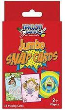 JUMBO SNAP PLAYING CARDS, IDEAL GIFT FOR ANY CHILD