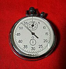 Stopwatch Zlatoust Секундомер Pocket Mechanical USSR Rare