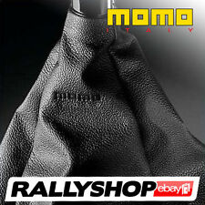 Momo Gear Cover, Black Leather , CHEAP DELIVERY WORLDWIDE!  (Race,Rally,Tuning)