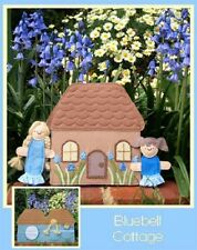 BLUEBELL COTTAGE FINGER PUPPET AND PLAY HOUSE PATTERN