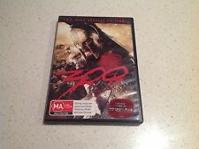 300 MOVIE TWO DISC SPECIAL EDITION SET VGC , BARGAIN GERARD BUTLER STUNNING