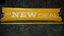 VTG 90's HUGE 4 FOOT THE NEW DEAL SKATEBOARD SIGN BANNER POSTER RARE + sticker !