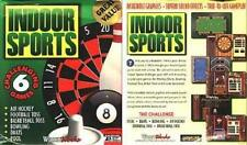 Indoor Sports (PC-CD, 1997) for Windows 95/98/Me/XP - New CD in SLEEVE