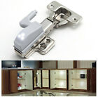 5 x LED Light Lamp Atached On Hinges of Kitchen Wardrobe Cabinet Door Hinge