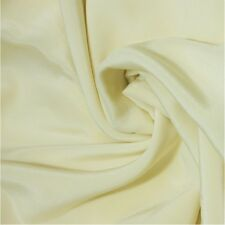 "Silk Fabric 0.5 Yards 45"" wide 12mm scdc Pure Silk Crepe De Chine Nude"