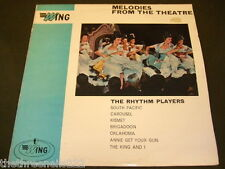 VINYL LP - MELODIES FROM THE THEATRE - RHYTHM PLAYERS - WL 1031