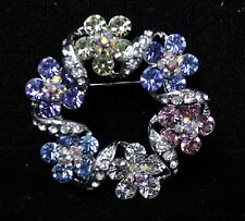 Vintage Flower Style Brooches multi color high-quality Bouquet gift-4