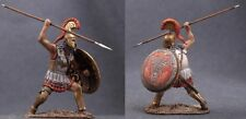 Tin toy soldiers ELITE painted 54 mm Spartan Greek Hoplite with Spear
