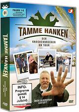 3 DVDs * TAMME HANKEN - DER KNOCHENBRECHER ON TOUR - FOLGEN 1 - 5 # NEU OVP