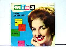 """MINA-45 EP- """"CANTA EN ESPANOL,MOLIENDO CAFE'+EL CIELO EN CASA+2"""