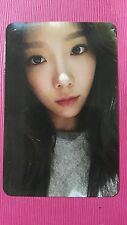 TAEYEON MY VOICE Official PHOTOCARD #5 1st Album Girl's Generation SNSD 태연