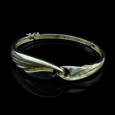 GIFA Danish Sterling Silver 925 Bracelet Bangle Modernist Denmark Vintage