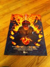 VII Gates Fire Walk With Me Rare Heavy Metal Poster Kee Marcello Chris Amott