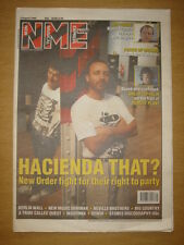 NME 1990 AUG 4 NEW ORDER PIXIES LED ZEPPELIN MADONNA