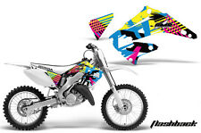 AMR Racing Honda CR 125/250 Shroud Graphic Kit Bike Sticker Decals 02-08 FLSHBK