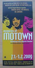 MEMORIES OF MOTOWN CONCERT FLYER – BERLIN JANUARY 2009 – 50th ANNIVERSARY *MINT*