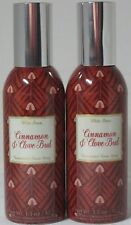 Bath & Body Works White Barn Concentrated Room Spray Lot 2 Cinnamon & Clove Buds