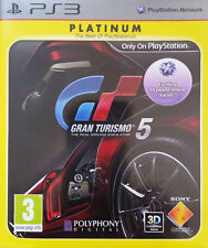 GRAN TURISMO 5 GIOCO COMPLETO-Sony Playstation 3/ps3 GAME-GRATIS P&P UK!