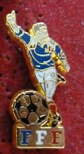 RARE BEAU PIN'S SPORT FOOTBALL FOOT JPP JEAN PIERRE PAPIN FFF 1992 FRANCE