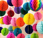 Tissue Paper Honeycomb Hanging Ball Wedding Party Birthday Decoration