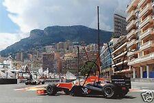 "Formula uno F1 Driver Lucas di grassi Virgin Racing HAND SIGNED PHOTO 12x8 ""ad"
