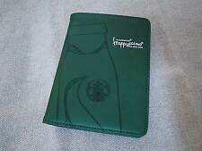 New 2015 Starbucks Taiwan Coffee frappuccino Passport Card Holder (Green)