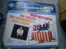 "LP 12"" LA GRANDE STORIA DEL ROCK N.42 IRON BUTTERFLY CRESTS SAM COOKE N/MINT"