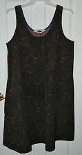 THE VERMONT COUNTRY STORE women's Fall Color CORDUROY Jumper Dress* L XL