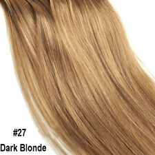 Top Grade One Piece Clip in Remy Human Hair Extensions Full Head Highlight US