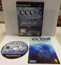 Console Game Gioco SONY Playstation 2 PS2 Play PAL ITALIANO ECCO THE DOLPHIN Ita
