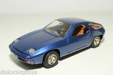 MEBETOYS 6736 PORSCHE 928 METALLIC BLUE EXCELLENT CONDITION