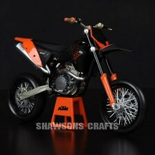 DIE CAST 1/12 KTM 450 SM-R 09 MOTORCYCLE MODEL DIRT BIKE REPLICA