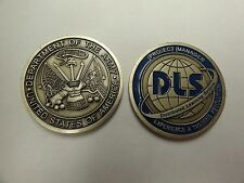 CHALLENGE COIN PROJECT MANAGER DISTRIBUTED LEARNING SYSTEM DLS US ARMY REVOLUTIO