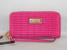 Juicy Couture Duchess Pink NOUVELLE POP NYLON Tech Wristlet Wallet WSG47